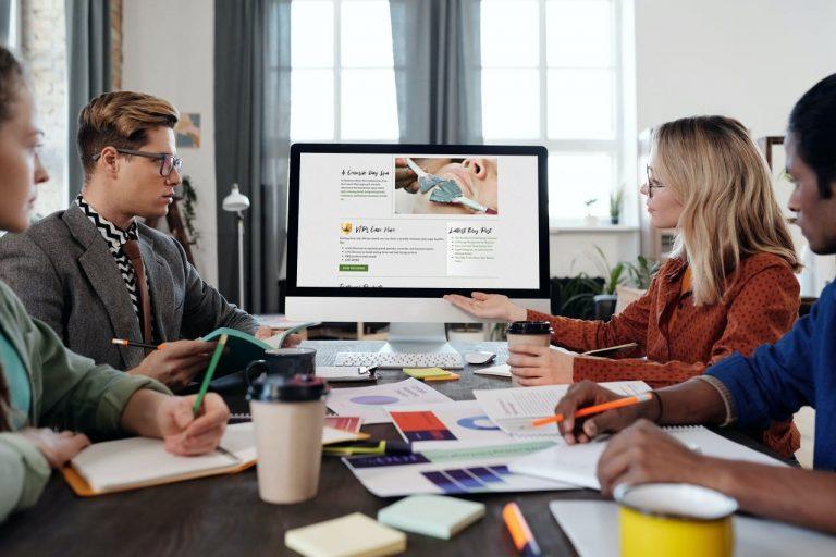 Sarasota Website Design Screenshot